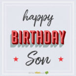 Happy Birthday, Son!