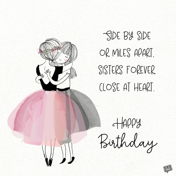 Miraculous Happy Birthday Little Sister 7 Personalised Birthday Cards Rectzonderlifede