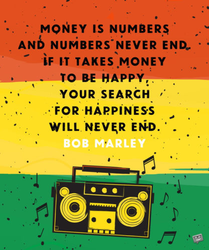 99 Famous Bob Marley Quotes One Love