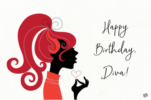 Happy Birthday, Diva!