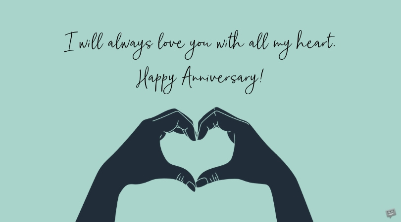 I Want to Grow Old With You | Anniversary Wishes for Husbands