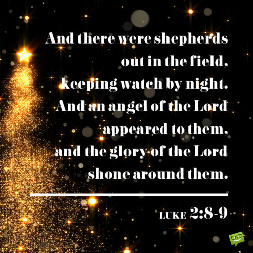 Christmas bible verse for wishing.
