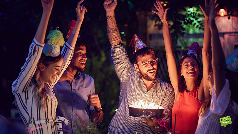 Organize a surprise party with friends