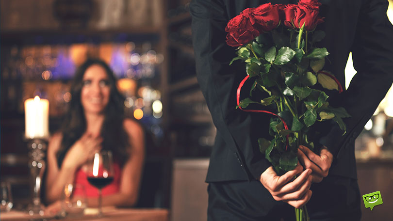 Surprise dinner for your girlfriend.