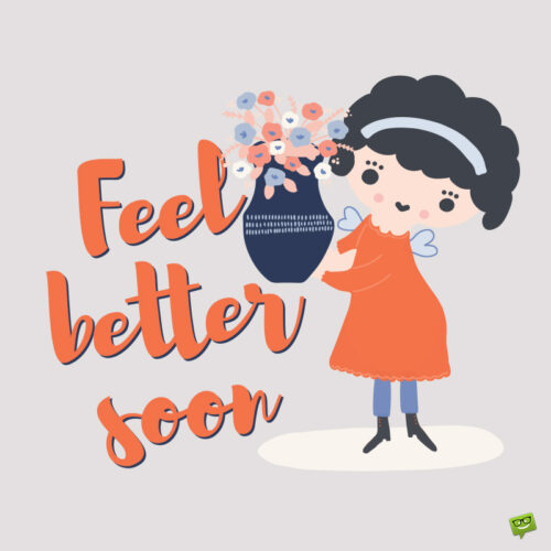 Get well soon image.