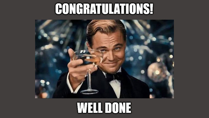 40 Congratulations Memes to Give Them A Thumbs Up
